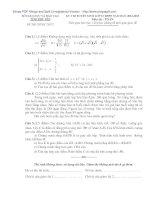 Đề thi tuyển sinh lớp 10 môn toán năm 2012   sở GDĐT tỉnh phú yên
