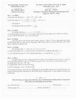 Đề Thi Chính Thức Môn Toán Kỳ Thi Tuyển Sinh Vào Lớp 10 THPT Của Sở Giáo Dục Và Đào Tạo Kiên Giang năm 2012,2013