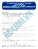 Bài tập trắc nghiệm chương phản ứng hạt nhân (1)