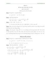 bộ đề thi học sinh giỏi toán 7 có đáp án