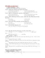 10 đề kiểm tra địa lí 7 (kèm đáp án)