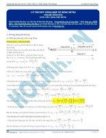 Tuyển tập câu hỏi trắc nghiệm môn vật lý phần sóng cơ (4)