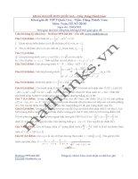 Đề thi thử và cách giải môn toán thầy đặng thành nam (20)