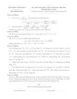 Đề và đáp án thi HSG lớp 9 môn toán tỉnh vĩnh phúc 2011 2012