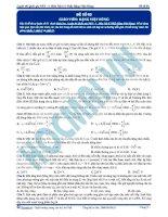 Luyện thi quốc gia PEN môn vật lý Thầy Đặng Việt Hùng (7)