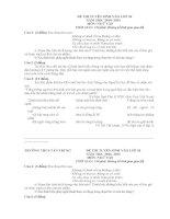 Đề thi ngữ văn lớp 9 vào 10 tham khảo sưu tầm bồi dưỡng ôn thi (27)