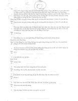 Đề thi dành cho nhân viên ngân hàng (có đáp án) - 2