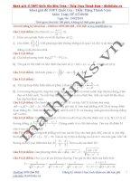 Đề thi thử và cách giải môn toán thầy đặng thành nam (8)