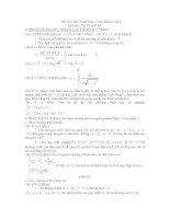 thi thử đại học môn toán, đề 59