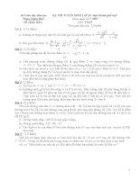 đề ôn luyện thi vào lớp 10  toán, đề số 3