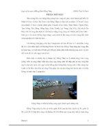 Đề tài Quy hoạch môi trường tỉnh Đồng Tháp