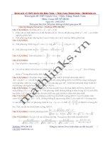 Đề thi thử và cách giải môn toán thầy đặng thành nam (3)