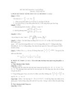 thi thử đại học môn toán, đề 93