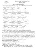Đề luyện thi học sinh giỏi môn Tiếng Anh lớp 11 số 14