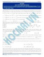 Luyện thi quốc gia PEN môn vật lý Thầy Đặng Việt Hùng (6)