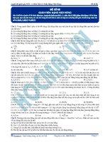 Luyện thi quốc gia PEN môn vật lý Thầy Đặng Việt Hùng (3)