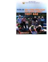Ebook Tuyển tập quy trình công nghệ sản xuất giống thủy sản- Phần 1 - NXB Nông nghiệp