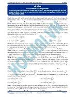 Luyện thi quốc gia PEN môn vật lý Thầy Đặng Việt Hùng (9)