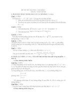 thi thử đại học môn toán, đề 86