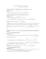 thi thử đại học môn toán, đề 106