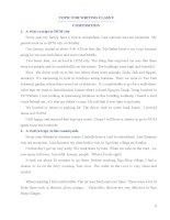 Đề thi học sinh giỏi, kiểm tra tiếng anh lớp 9 sưu tầm tham khảo ôn thi (15)