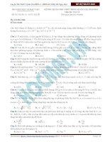 Đề thi Vật lí minh họa kì thi THPT quốc gia 2015 thầy Đỗ Ngọc Hà (4)