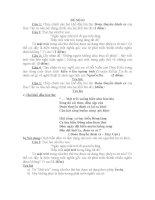 đề ôn luyện ngữ văn tuyển sinh 10, đề số 3