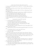 ĐỀ CƯƠNG ÔN TẬP HKII MÔN LỊC SỬ 6