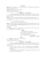 đề ôn luyện ngữ văn tuyển sinh 10, đề số 4
