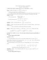 thi thử đại học môn toán, đề 95
