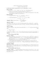 thi thử đại học môn toán, đề 105