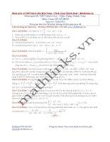 Đề thi thử và cách giải môn toán thầy đặng thành nam (9)