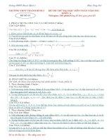 đề thi thử môn toán ôn thi đhcđ năm 2011 đề số 12