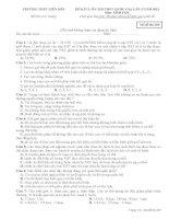 ĐỀ KTCL ÔN THI THPT QUỐC GIA LẦN 5 môn sinh NĂM 2015-thpt liên sơn mã đề-209