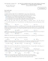 Đề thi đại học môn vật Lý (17)