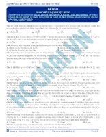 Luyện thi quốc gia PEN môn vật lý Thầy Đặng Việt Hùng (2)