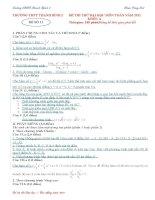 đề thi thử môn toán ôn thi đhcđ năm 2011 đề số 11