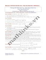 Đề thi thử và cách giải môn toán thầy đặng thành nam (12)