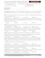 Đề thi Vật lí minh họa kì thi THPT quốc gia 2015 thầy Đỗ Ngọc Hà (1)
