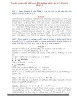 Tuyển chọn 405 bài tập Toán 5 tập 1