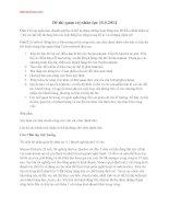 Đề thi môn quản trị nhân lực 15.5.2014 đại học thương mại