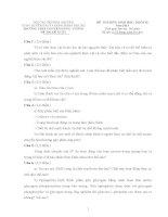 ĐỀ THI (ĐỀ XUẤT) HỌC SINH GIỎI CÁC TRƯỜNG CHUYÊN VÙNG DUYÊN HẢI VÀ ĐỒNG BẰNG BẮC BỘ  NĂM 2015 MÔN SINH HỌC 10  TRƯỜNG CHUYÊN PHÚ THỌ