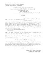 ĐỀ THI HỌC SINH GIỎI CÁC TRƯỜNG CHUYÊN DUYÊN HẢI VÀ ĐBBB NĂM 2015 -Toán 10 trường chuyên Lê Quý Đôn Điện Biên