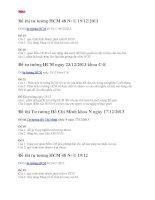 Đề thi môn tư tưởng HCM 48 23.12.2013 đại học thương mại
