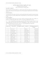 Đề thi môn kinh tế phát triển đại học thương mại (16)