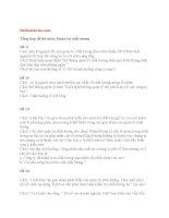 Tổng hợp đề thi môn quản trị chất lượng 2013 đại học thương mại