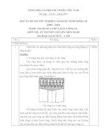 ĐỀ thi tốt nghiệp cao đẳng nghề ngành nguội sửa chữa máy tính công cụ phần lý thuyết và đáp án mã   (2)