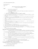 Đề thi môn kinh tế phát triển đại học thương mại (20)