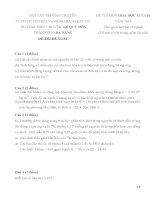 ĐỀ THI HỌC SINH GIỎI CÁC TRƯỜNG CHUYÊN DUYÊN HẢI VÀ ĐỒNG BẰNG BẮC BỘ NĂM 2015 -Hóa học  10 trường chuyên Lê Quý Đôn, Đà Nẵng