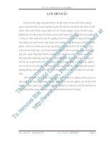 Tiểu luận môn quản trị tác nghiệp một số biện pháp trong quản trị sản xuất tác nghiệp nhằm nâng cao hiệu quả hoạt động của doanh nghiệp